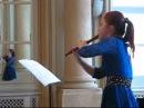 W.A. Mozart Flute Concerto D-dur Allegro - by Lenka Molcanyiova