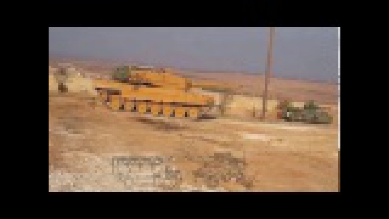 EL BAB' a Tank ve obüs atışı howitzers and tank shot in Elbab * TURKİSH ARMY