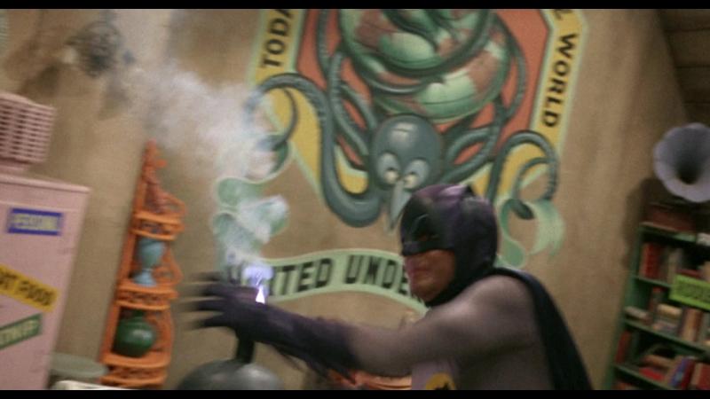 Куда деть бомбу Отрывок из к ф Бэтмен 1966