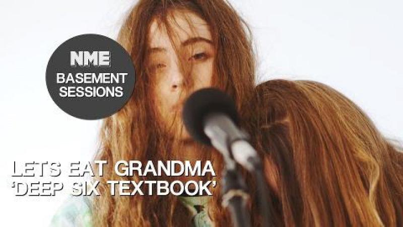 Lets Eat Grandma 'Deep Six Textbook' NME Basement Sessions