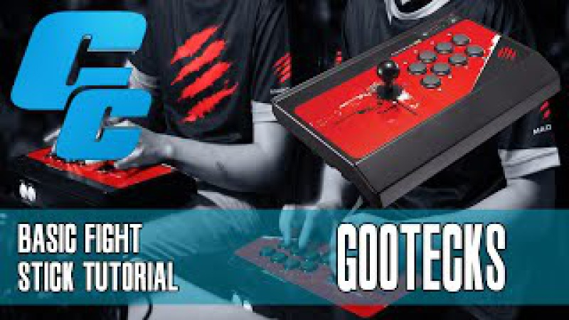 The Basics of Using a Fight Stick Tutorial w gootecks @gootecks Ultra Street Fighter 4