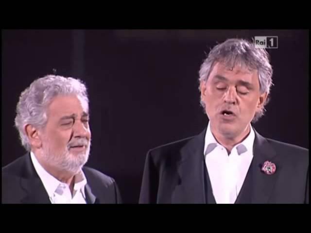 Non Ti Scordar Di Me Andrea Bocelli Plácido Domingo