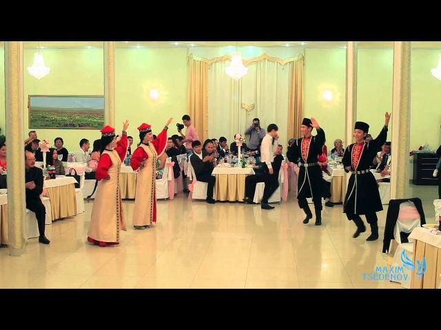 Калмыцкий народный танец Шарка Барка государственный ансамбль Тюльпан на ZaanOnline