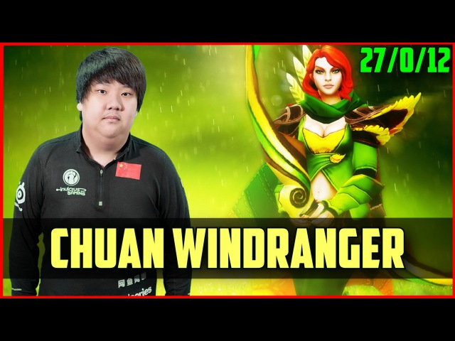 IG.Chuan Windranger 27012 | DOTA 2 gameplay