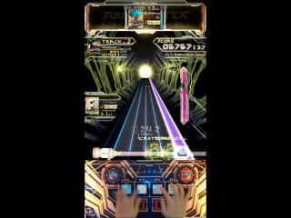 Sound Voltex III PANIC HOLIC (GRAVITY) with hand shot