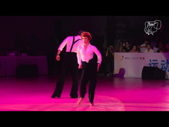 Poliansky Akhmetgareeva RUS 2014 World Showdance LAT DanceSport Total