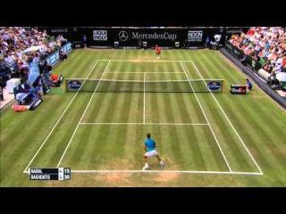 Rafael Nadal vs Marcos Baghdatis FULL MATCH  ᴴᴰ MERCEDESCUP 2015 PART 1
