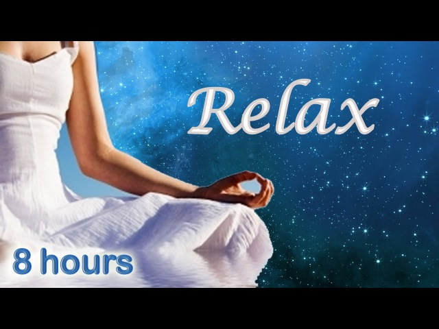 ☆ 8 HOURS ☆ COSMIC PEACE Relaxing Music for Meditation Stress Relief Baby Sleep Pregnancy
