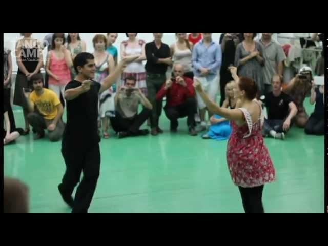 Tango Camp 2012 Ruben Sabrina Veliz Chacarera Lesson Resume 03 05 2012