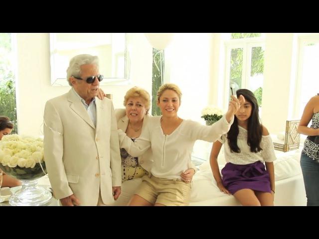 Shakira y su padre William Mebarak graban Hay Amores Shakira her dad record 'Hay Amores