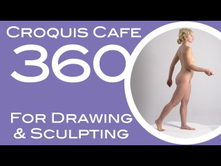 Croquis Cafe 360: Drawing & Sculpture Resource, Simone #10