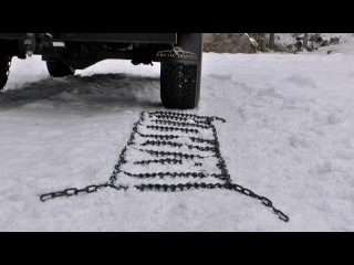 Arctic Trucks Finland: Toyota Hilux AT35 with OFA Snow Chains