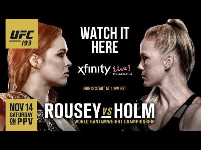 UFC 193 Лучшие момнеты Rousey vs Holm НОВЫЙ ЧЕМПИОН UFC