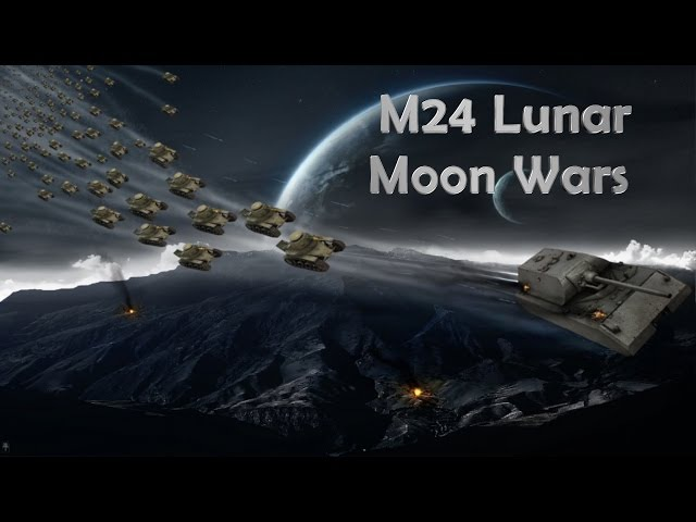 World of Tanks Xbox 360 M24 Lunar Tanks In Space!