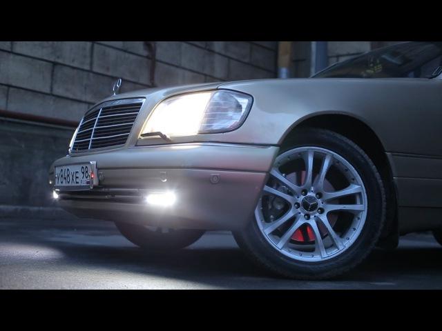 Тест драйв Mercedes S500 W140