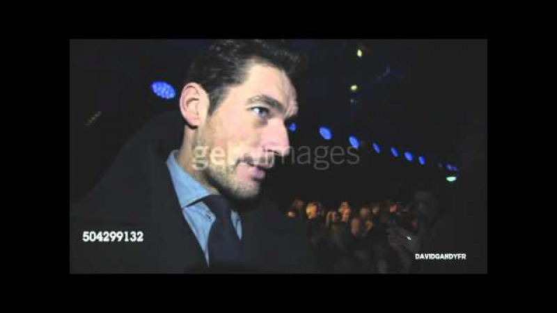 David Gandy at the Topman A/W16 Show in London (08/01/2015)