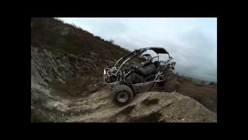 Adrenalin rush !! buggy pgo 250 150 gopro hd 3
