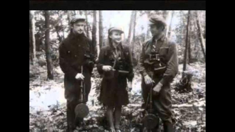 Lietuvos partizanų draugas mėnulis Arvydas Brunius ir Onutė Degutytė wmv