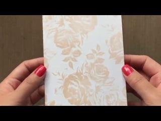 Close Up: Rose Gold Bangle Pigment Ink