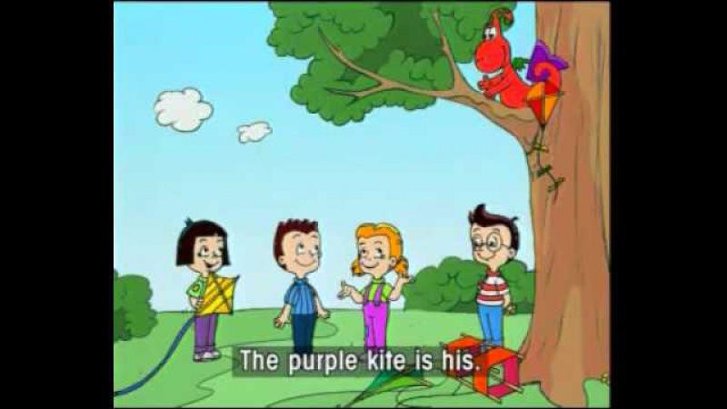 Английский для детей Gogo's 32 whose kite is that