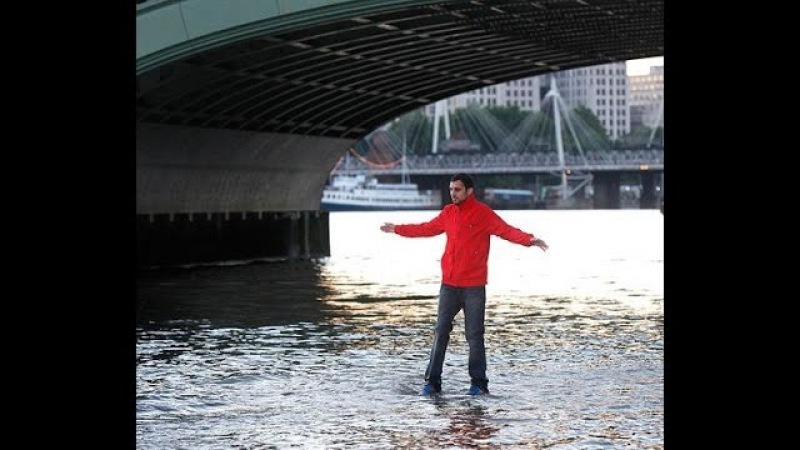 НЕВЕРОЯТНЫЕ ФОКУСЫ В МИРЕ Иллюзионист Динамо Полет на месте * Dynamo magic Shard levitation