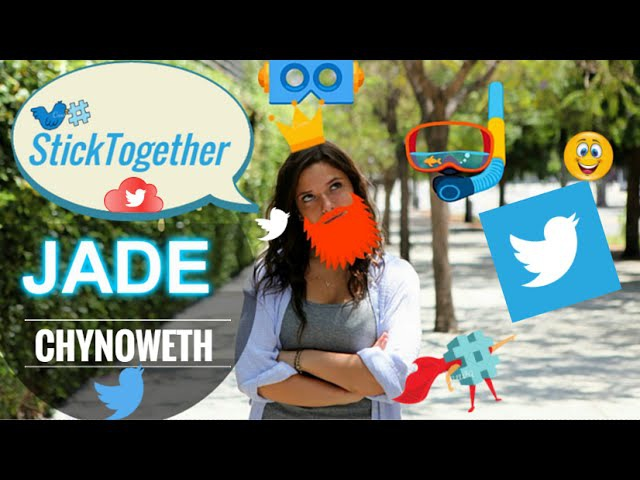 JADE CHYNOWETH StickTogether ft. Chachi Gonzales.Cyrus Glitch -Andrea Russett- Other Youtubers!