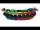 DIY macrame friendship bracelet shamballa Сharm Браслет своими руками шамбала Шарм