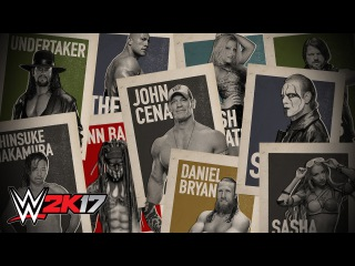 """#My1 See every single Superstar in '""""WWE 2K17'"""""""
