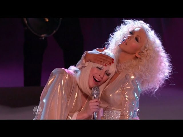 Lady Gaga ft Christina Aguilera Do What U Want The Voice 2013 Finale