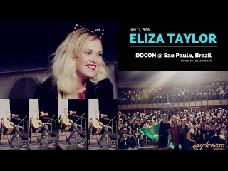 Eliza Taylor DDCON Day 2 - São Paulo, Brazil | July 17, 2016