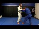 Travis Stevens' coach Jimmy Pedro teaches how to apply the Kouchi Gari