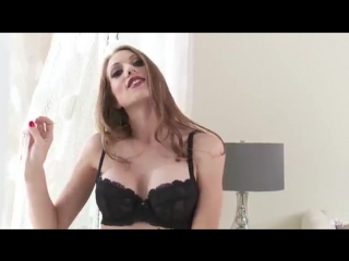 Hot girl in black lingerie! Beautiful sexy chick! эротика секс порно