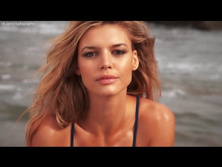 Келли рорбах (kelly rohrbach) на съёмках sports illustrated swimsuit (2015)