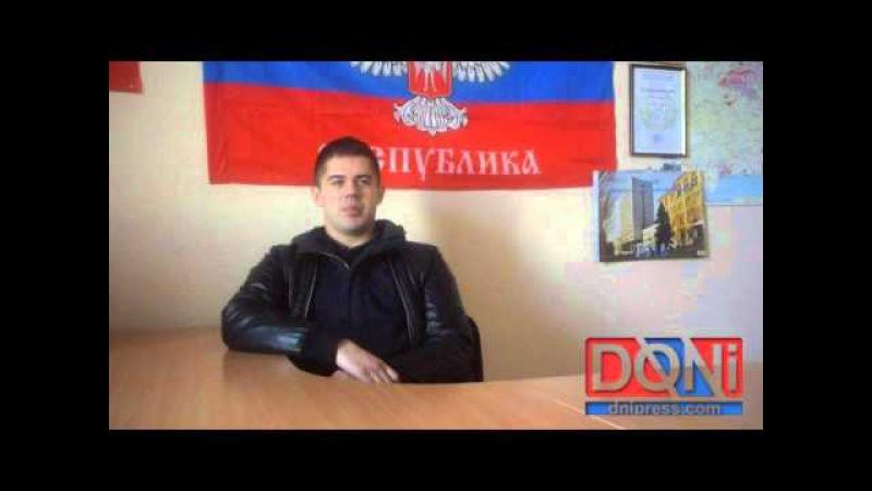 Sergeï Munier volontaire français du Donbass 2