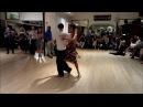 Tango Lesson: Continuous Back Sacadas