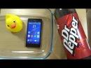 Sony Xperia M4 Aqua - Dr Pepper Test!