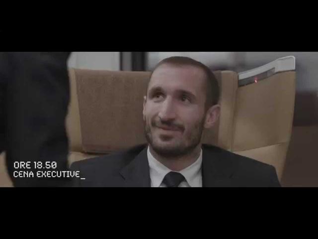 I giocatori della Juve in riunione sul Frecciarossa - Bianconeri in Frecciarossa hijinks