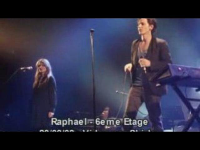 Raphael sixieme 6eme etage concert prive rtl2 vidéo Dailymotion