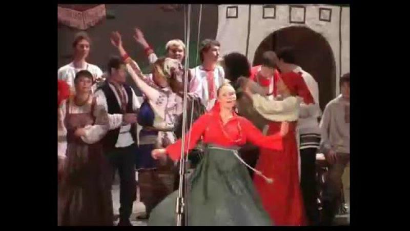 Мордовская народная песня Луганяса келунясь