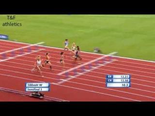 100m Hurdles Women's Semifinal 3 - European Athletics Championships 2016