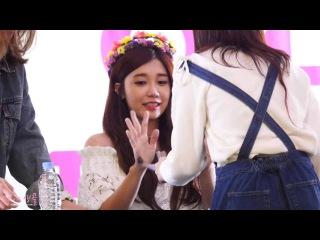 [160424] Fancam: Eunji #DREAM Fansign at Lotte World Mall