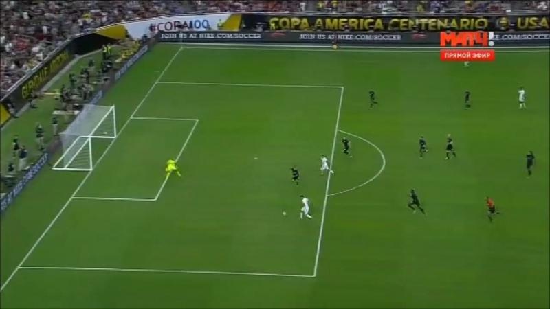 США Колумбия 0 1 Матч за 3 е место Кубок Америки 2016 26 июня 2016