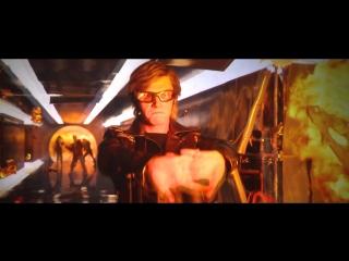 Ртуть | Люди Икс: Апокалипсис | Сцена в школе Ксавьера | TC