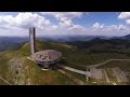 Дрон над Бузлуджа Phantom drone over Buzludzha monument Bulgaria
