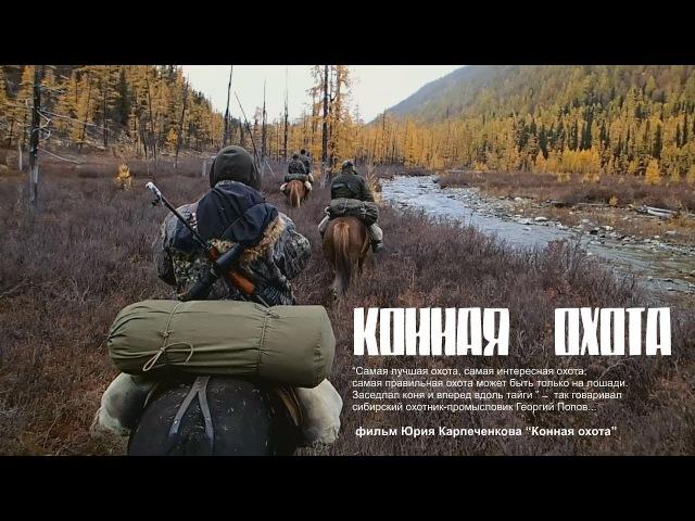КOHНАЯ ОХОТА Охота на изюбря во время гона HUNTING ON deer hunting during the rut
