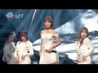 [hong jin young loves me, loves me not] comeback stage m countdown 170209