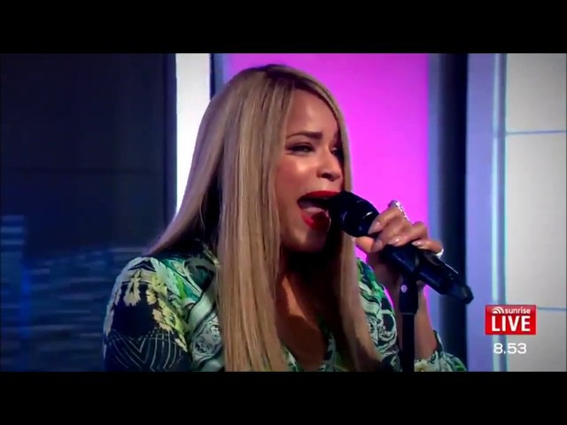 Sunrise Australia Blu Cantrell Performs 'Hit 'Em Up Style Oops ' LIVE HD 18th Nov 2016