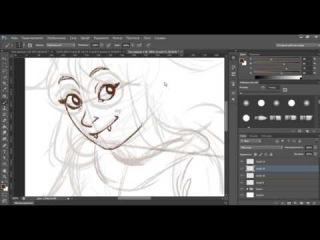 [Line-art in Photoshop] Jade Harley [TiMeNiHaDa]