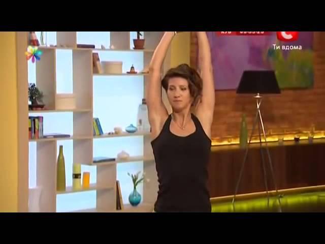 Ефективні вправи для схуднення від Аніти Луценко ВІДЕО
