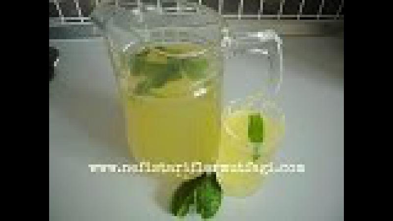 Naneli Limonata (Taze Nane Şerbeti)